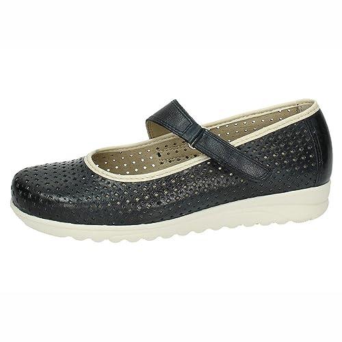 PITILLOS 2710 Mocasines Rejilla Mujer Zapatos MOCASÍN Marino 37
