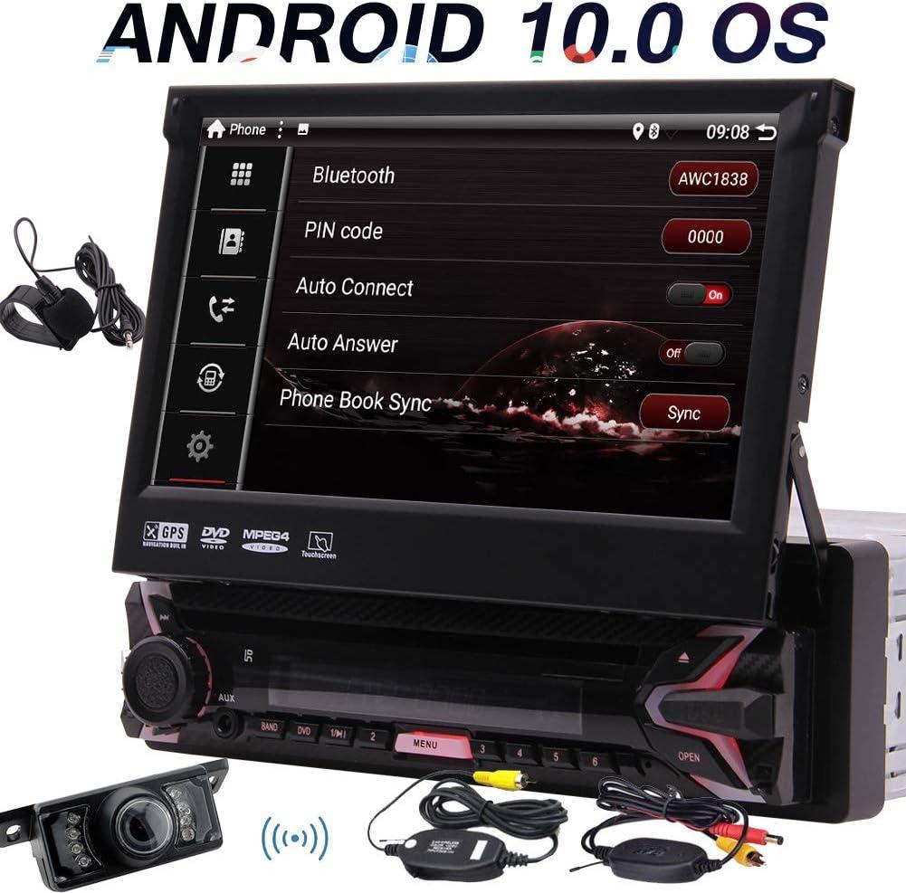 Eincar Android 10 0 Autoradio Mit Wireless Kamera Einzel L Rm Auto Gps Navigation Bluetooth Radio 7