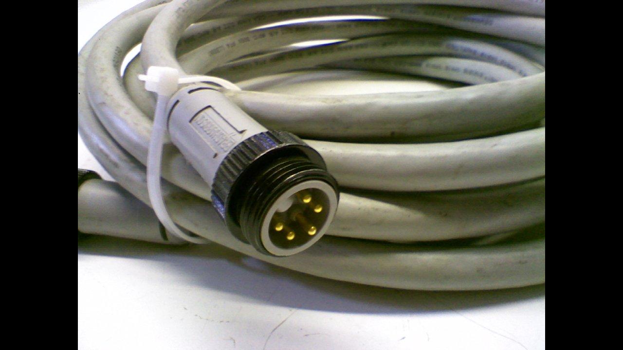 Balluff Bdn C-T01-Ac-Eaa-01-050M Cordset 5P M//F St//St 5M Bdn C-T01-Ac-Eaa-01-050M