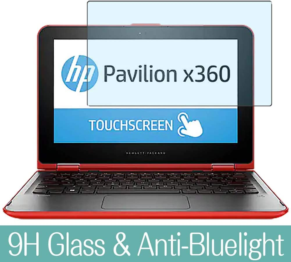 """Synvy Tempered Glass Screen Protector for HP Pavilion x360 11-k100 / k125tu / k120nr / k117cl / k154sa / k107tu / k106tu / k104tu / k132tu / k107no 11.6"""" Visible Area Film Protectors"""