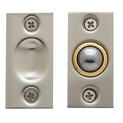 Baldwin 0425150 Adjustable Ball Catch Satin Nickel Cabinet And