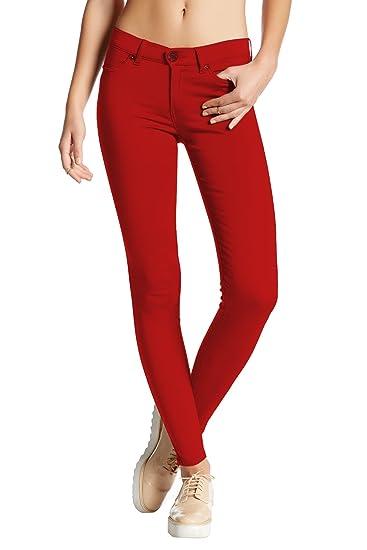 HyBrid & Company Womens Hyper Ultra Stretch Comfy Skinny Pants