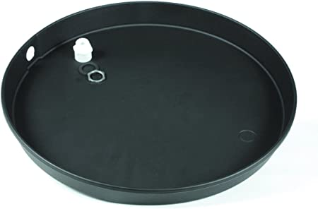 Camco 11466 22ID x 2 Plastic Drain Pan with CPVC Fitting