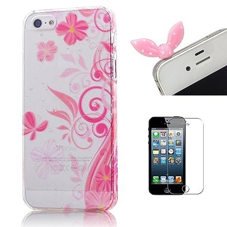 Cover Traslucida In Plastica Rigida Per Apple Iphone 5 5s E 5g