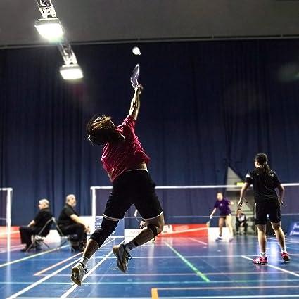 Senior Plume Doie Badminton Lhedon 12 Pi/èces Haute Qualit/é Volant de Badminton Formation Sport Int/érieur et Ext/érieur Badminton a une Bonne Stabilit/é et la Durabilit/é
