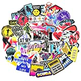 Outdoor Scuba Diving Stickers 60pcs Nature Adventure Stickers for Luggage Skateboard Suitcase Helmet Laptop