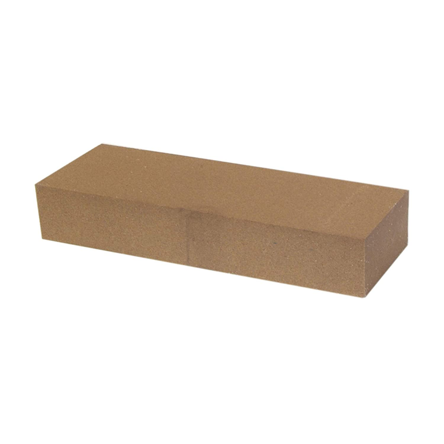 """Aluminum Oxide Sharpening Stone... Made in USA 4/"""" Long x 1//2/"""" Diam x 1//2/"""" Thick"""