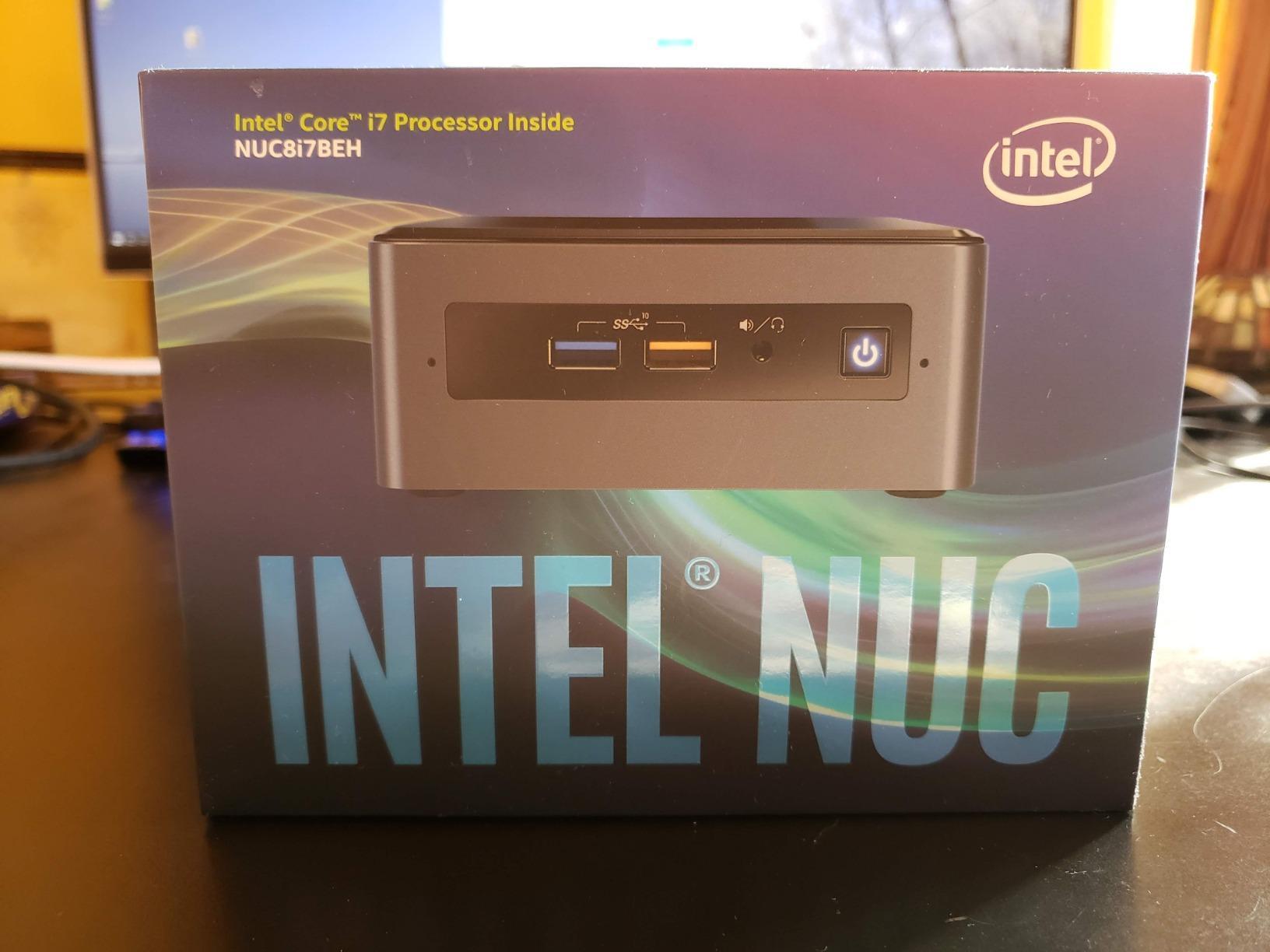 Intel NUC 8 Mainstream Kit (NUC8i3BEH) - Core i3, Tall, Add