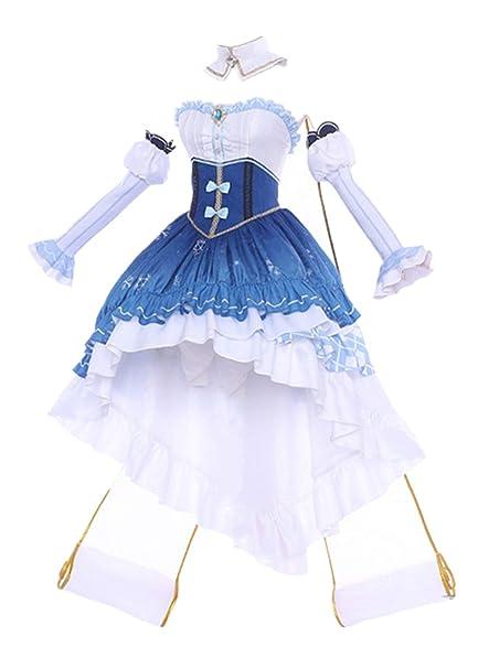 Amazon.com: Disfraz de princesa Snow 2019, disfraz de Lolita ...