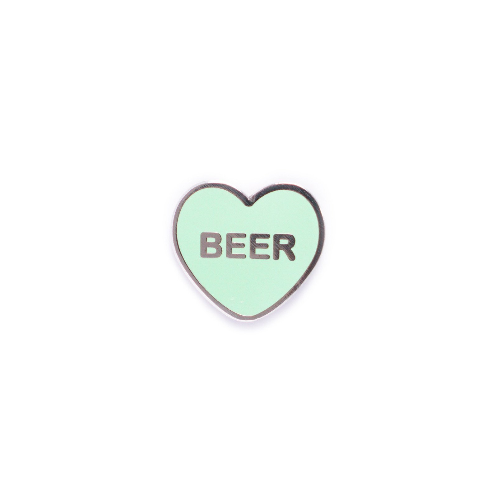 Beer Candy Heart Enamel Pin