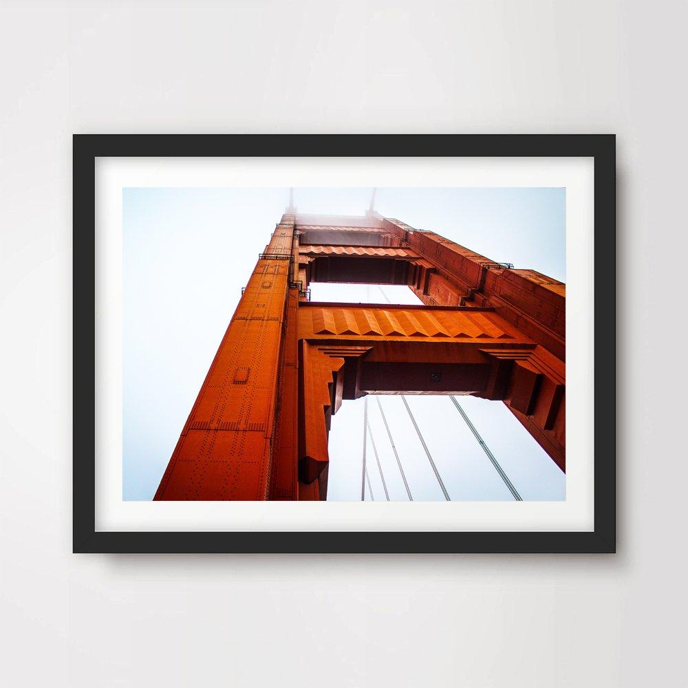 SAN FRANCISCO GOLDEN GATE BRIDGE ART PRINT POSTER Home Decor Wall Picture Photo A4 A3 A2 10 Sizes