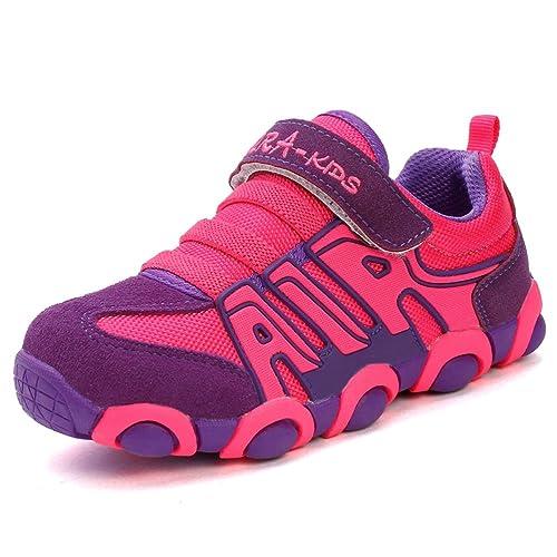 c682b4a368d3f JINDENG Boys Girls Running Shoes Kids Sneakers for Grade School Strap  Hook&Loop Walking Footwear Easy On