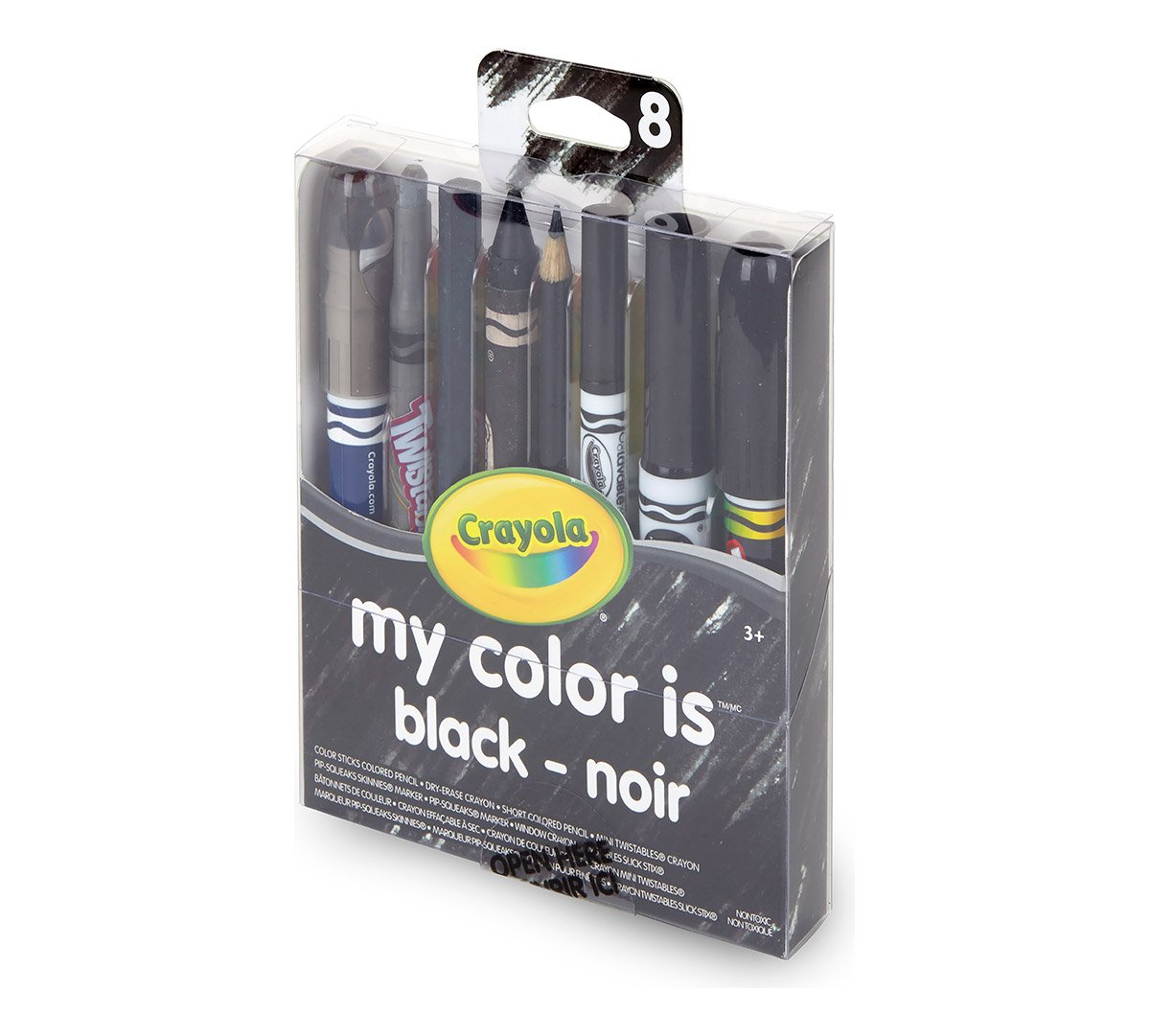 Amazon.com: Crayola My Color is (Black)
