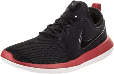 NIKE Men's Roshe Two BlackBlackGym RedWhite Running Shoe 11 Men US