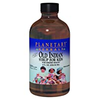Planetary Herbals Old Indian Syrup for Kids, for Winter Health,8 Ounces