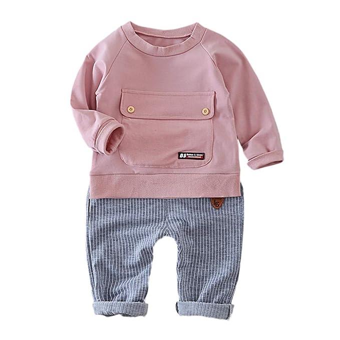 Amazon.com: Fineser - Conjunto de ropa para bebés y niños ...