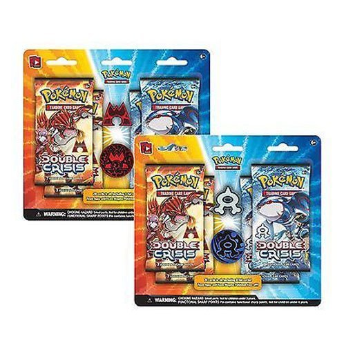Pokemon Double Crisis Rival Ambitions : Team aqua Vs Magma booster Expansion Set Crisis Pack
