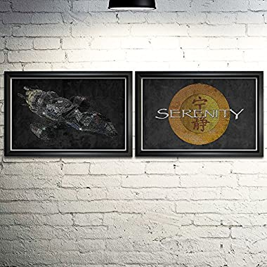 Firefly and Serenity Art Print Two Set- 11x17