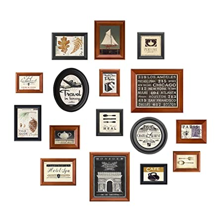 Picture Frames American Nostalgia Style Photo Wall Vertical Plate ...