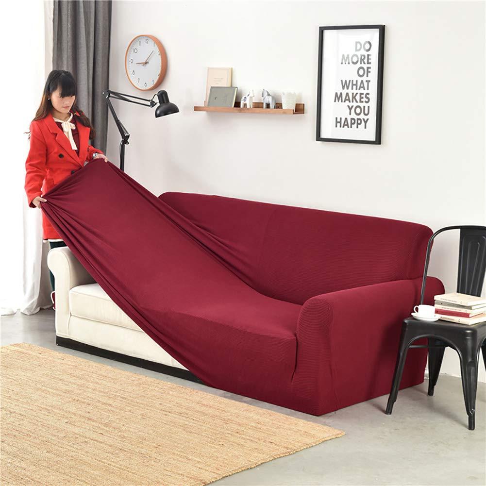 Amazon.com: DULPLAY Plush Sofa Cover,All-Inclusive Furniture ...
