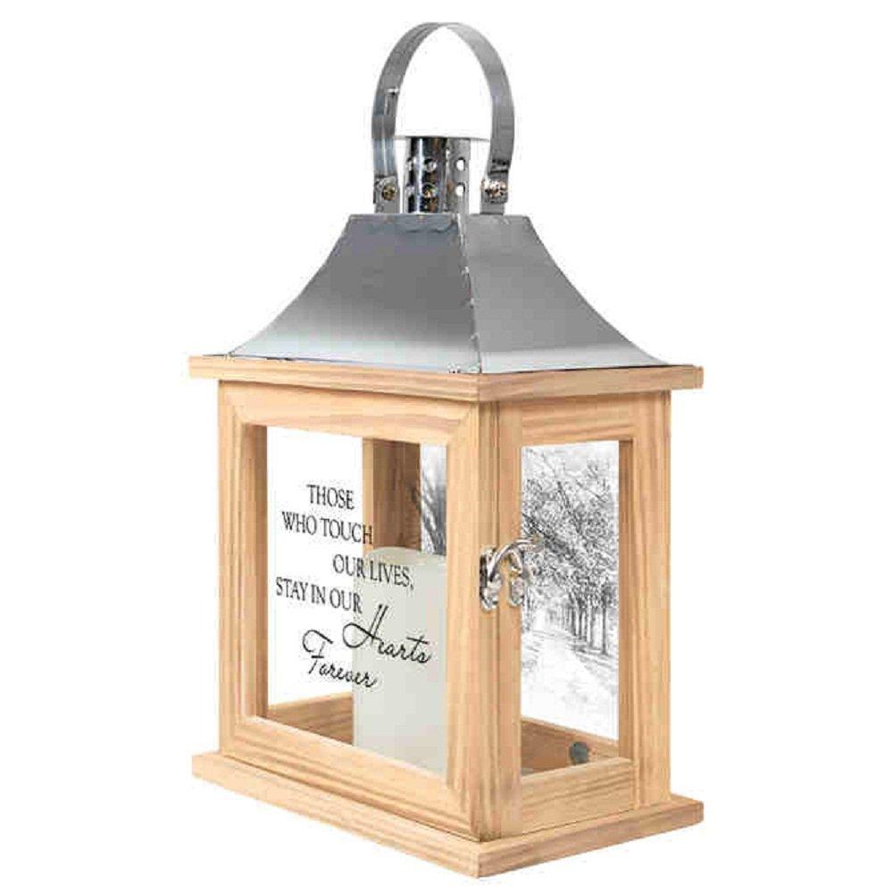 Carson Hearts Forever Memorial Lantern Home Decor