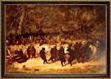 The Bear Dance By William H. Beard Framed 13x19 Inches