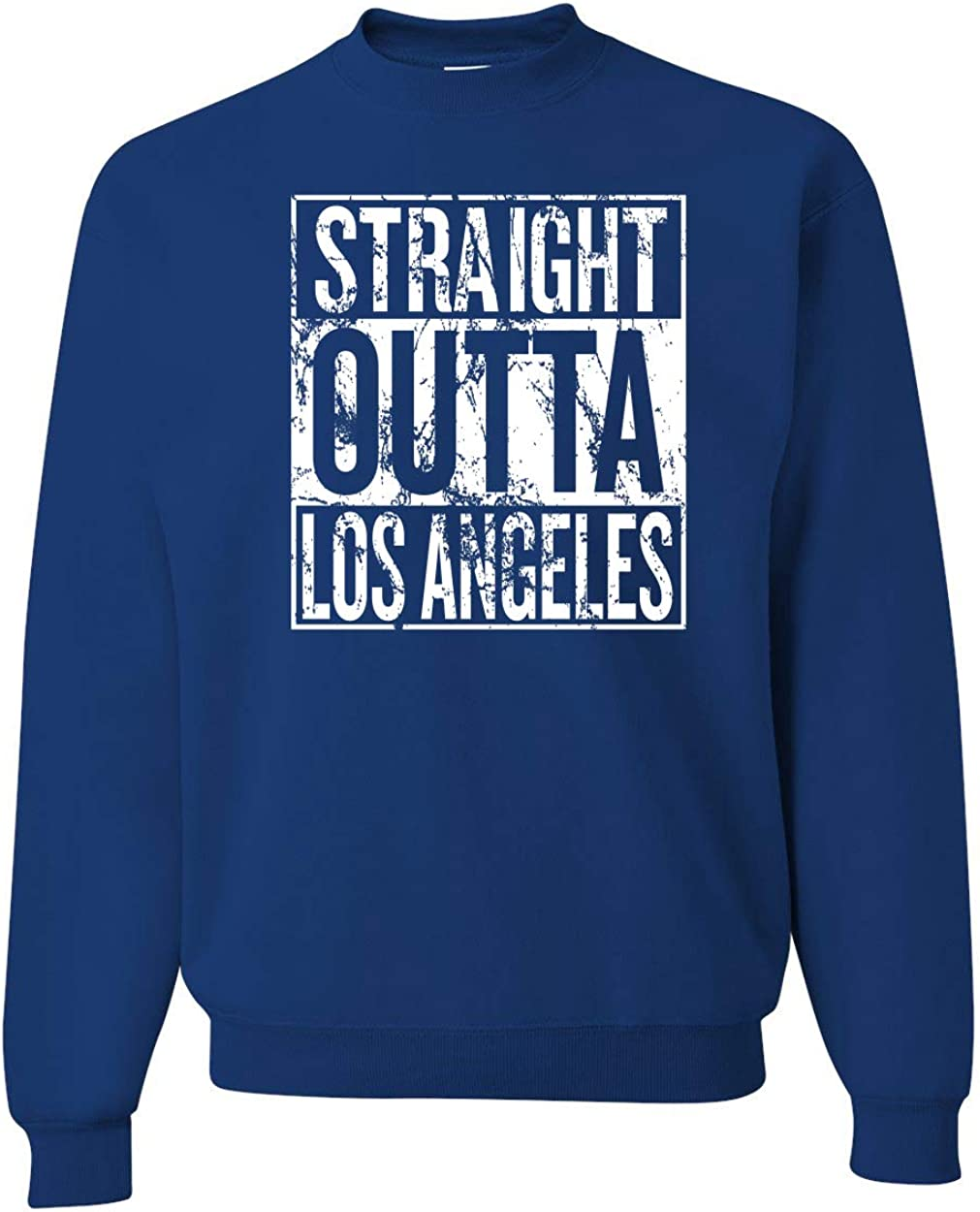 Mens Sports Crewneck Graphic Sweatshirt Wild Bobby Los Angeles Fans LAR Fantasy Football