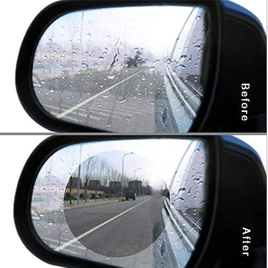 luz Larga L/ámina de Espejo retrovisor para Coche hidrof/óbico para Espejo Reflector de Lluvia antivaho inundaci/ón nanorexo Bettying protecci/ón antideslumbramiento