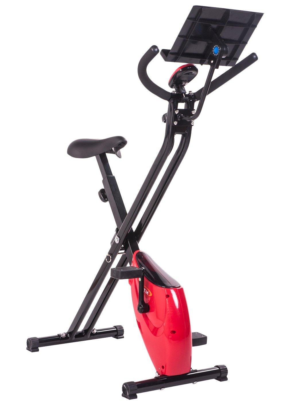 BTM bicicleta estática magnética plegable