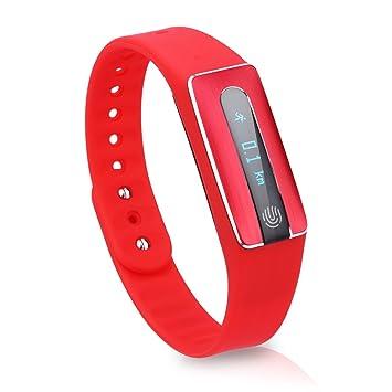 Diggro HB02 - Ajustable Smartwatch Pulsera de Actividad para Android IOS (Impermeable IP67, OLED, Bluetooth 4.0, Podómetro, Ritmo Cardíaco, NFC, ...