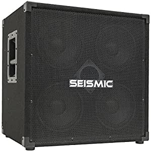 seismic audio 4x8 bass guitar speaker cabinet pa dj 500 watts 4 8 with horn musical. Black Bedroom Furniture Sets. Home Design Ideas