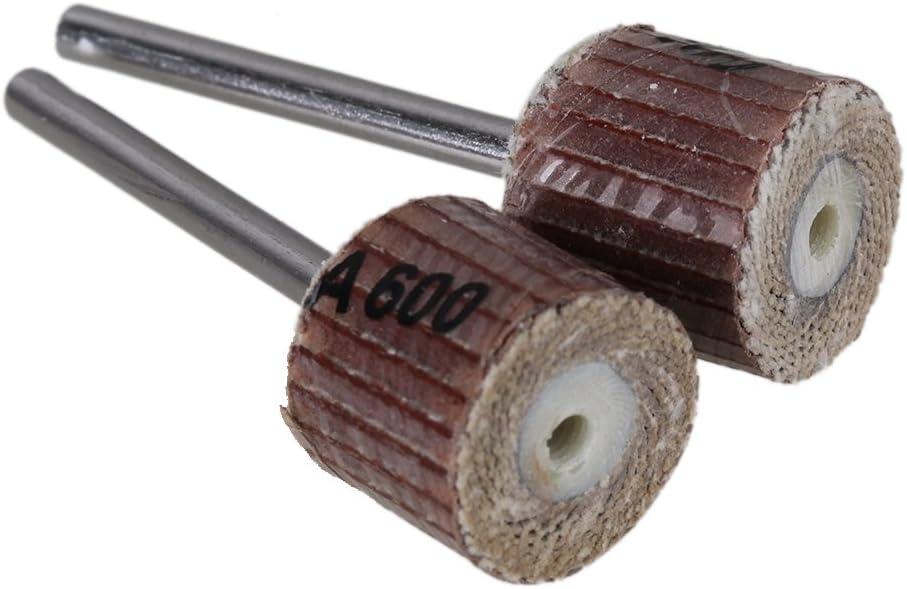 K/örnung 600 Yibuy 20 x Schleifpapier-Schleifpapier-Schleifscheiben 12 mm Durchmesser f/ür Drehwerkzeug