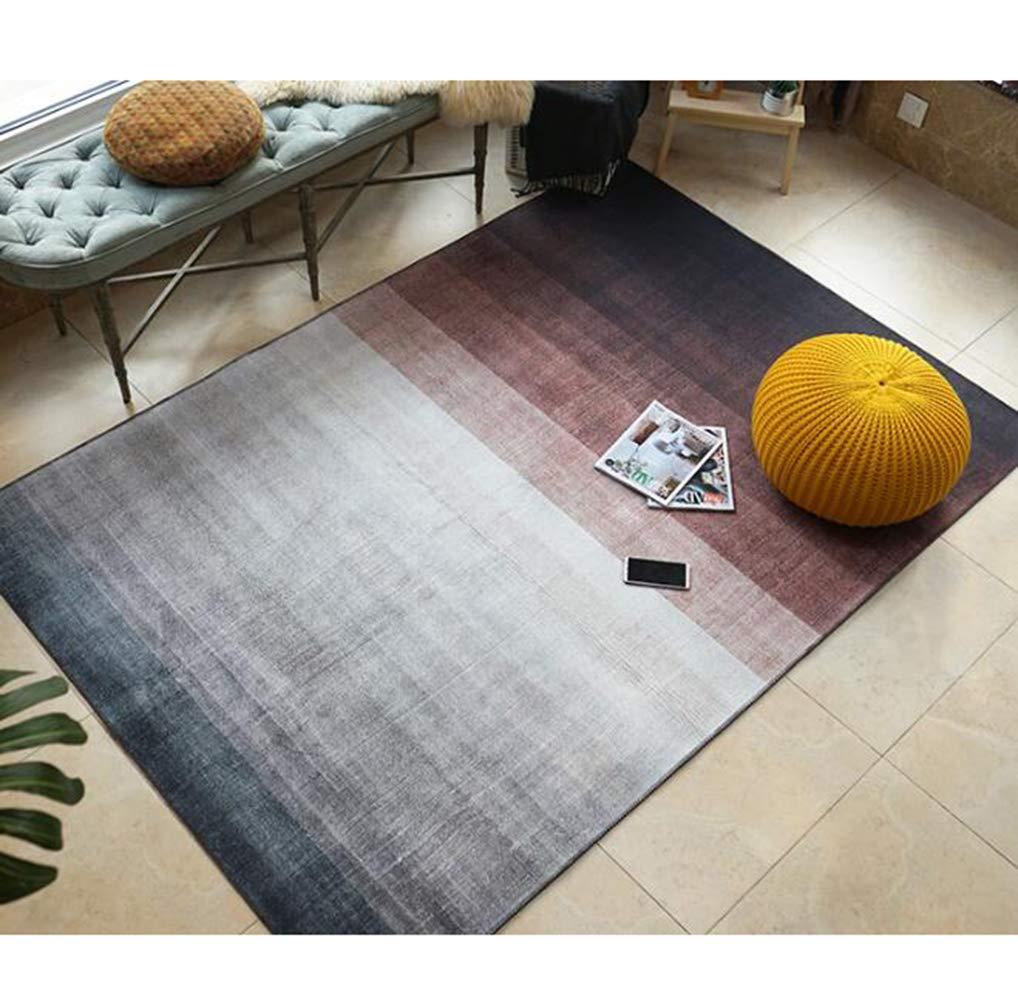 ライトグラデーションカラーリビングルームカーペット、寝室フルカーペットソファテーブルマットパッド洗えるエリアラグ,B,200cm×300cm 200cm×300cm B B07MZ519F9
