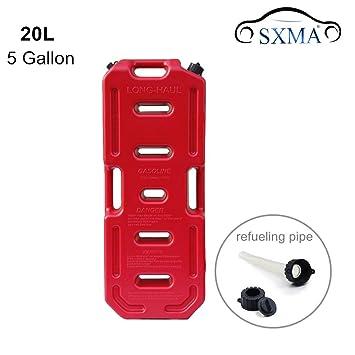 SXMA Depósito de combustible latas para 5 gallon portátil aceite de combustible Gasolina Diesel de Gas