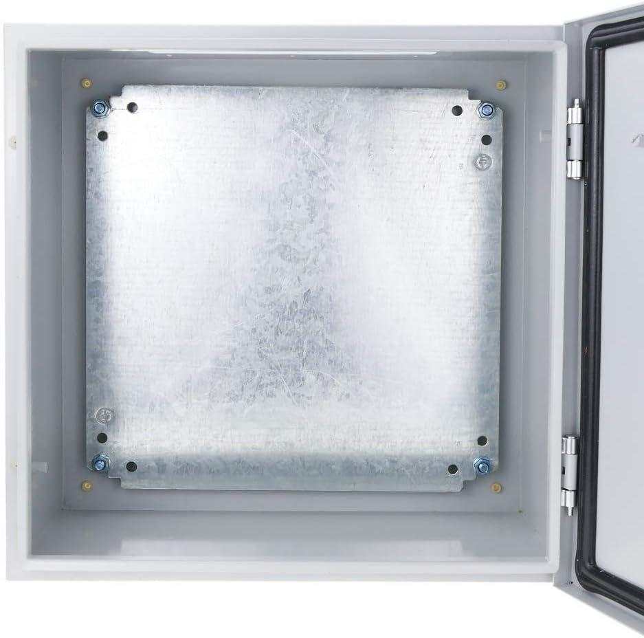 Scatola di Distribuzione Elettrica in Metallo IP65 per montaggio a parete 600x400x200mm