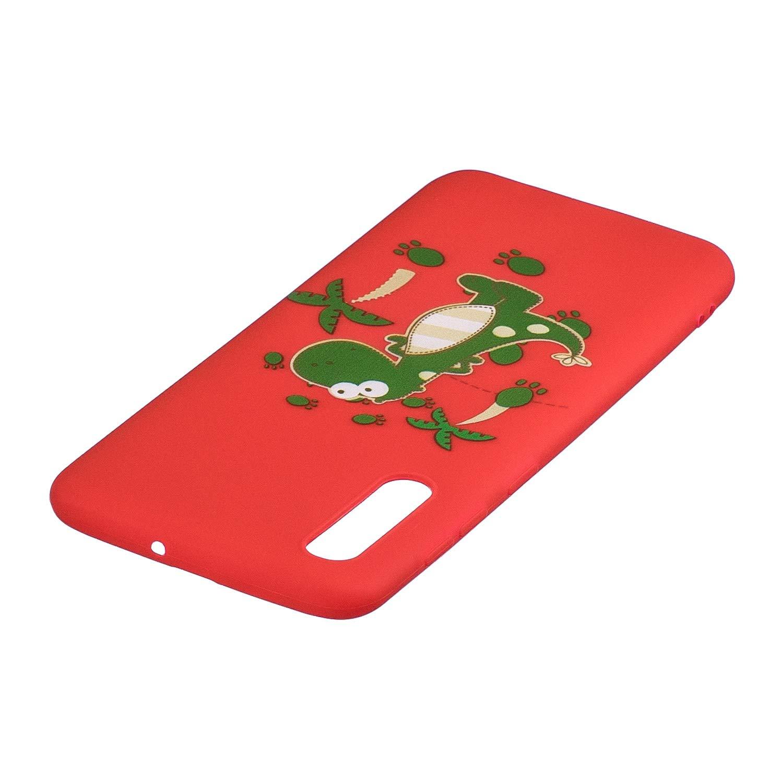 B/är Everainy Kompatibel f/ür Samsung Galaxy A50 2019 Silikon H/ülle Matt Ultrad/ünn H/üllen mit Schl/üsselband Handyh/ülle Gummi f/ür Galaxy A50 2019 Sto/ßfest TPU Gel Sto/ßstange Cover
