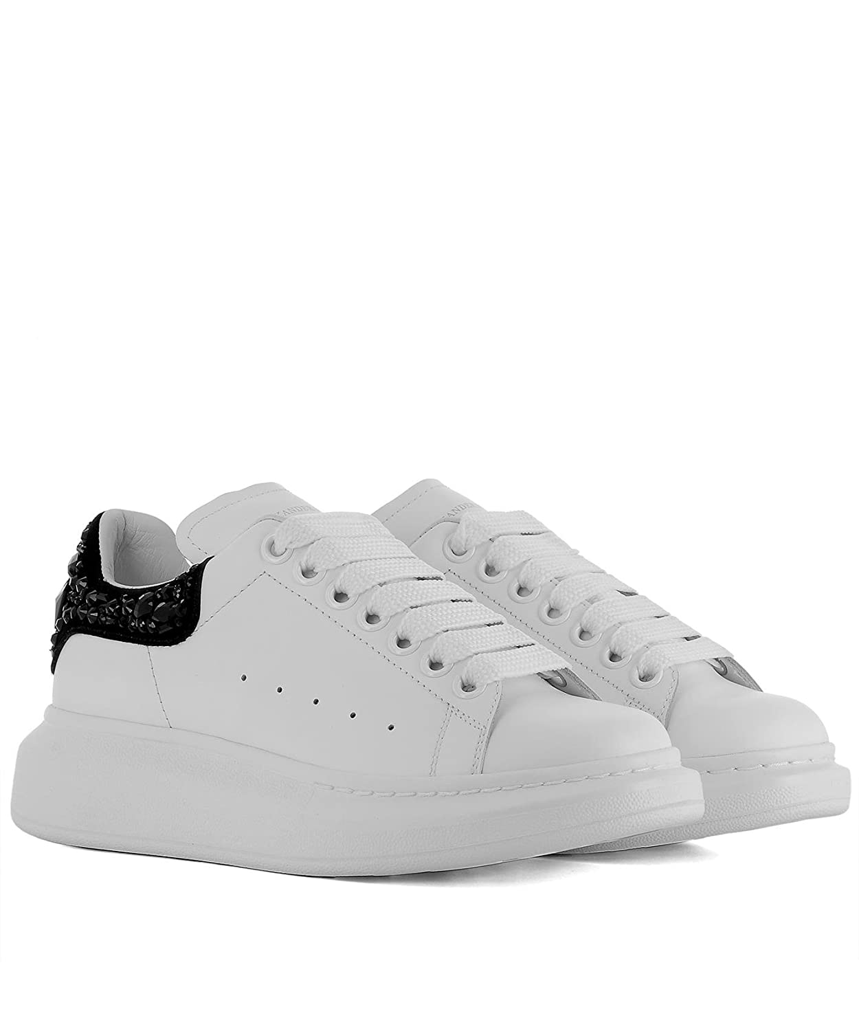 Alexander McQueen - Zapatillas para Mujer Weiß IT - Marke Größe, Color, Talla 38.5 IT - Marke Größe 38.5: Amazon.es: Zapatos y complementos