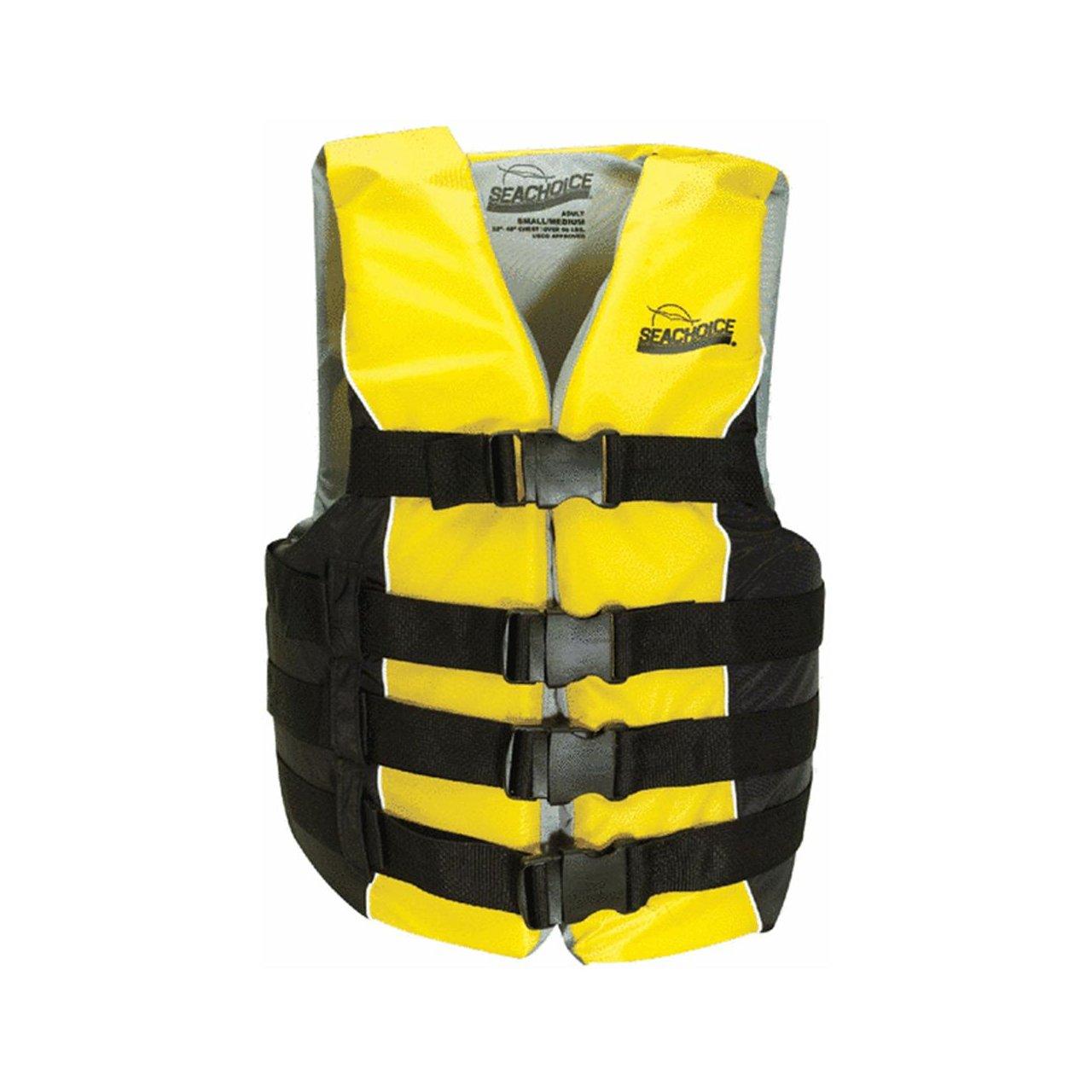 Seachoice Prod86420Deluxe Ski Vest-LG/XL 4 BELT SKI VEST (並行輸入品)   B000N9TH8O