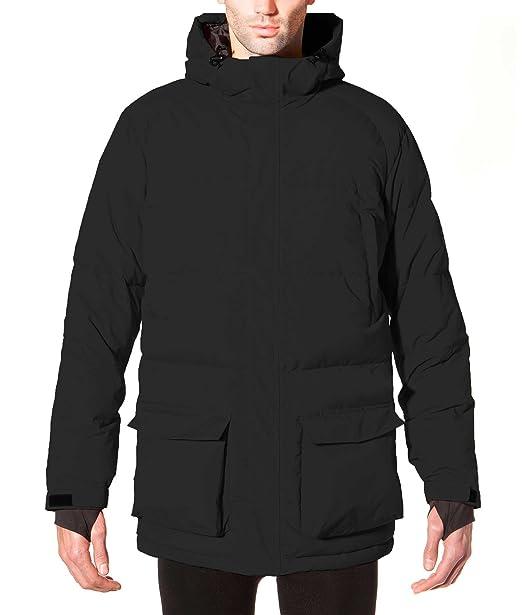 ECOALF SAMOENS Jacket Man, Plumas para Hombre, Black 319, S: Amazon.es: Ropa y accesorios