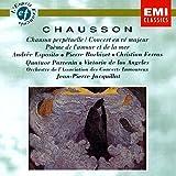 Concert for Piano, Violin and String Quartet; Poeme de l'amour et de la mer