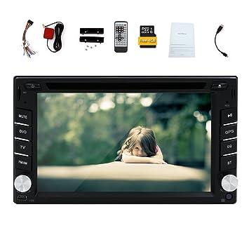 EINCAR Doble 2 DIN 6.2 Coche DVD GPS de navegación en el ...