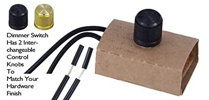 B P Lamp Table Lamp Inline Dimmer Switch Amazon Com