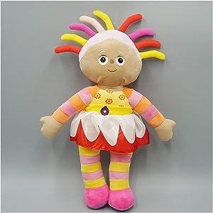 JUNMAIDZ Plush Toys Children TV Cartoon in The Garden Plush Toy Upsy Daisy Soft Doll Cartoon