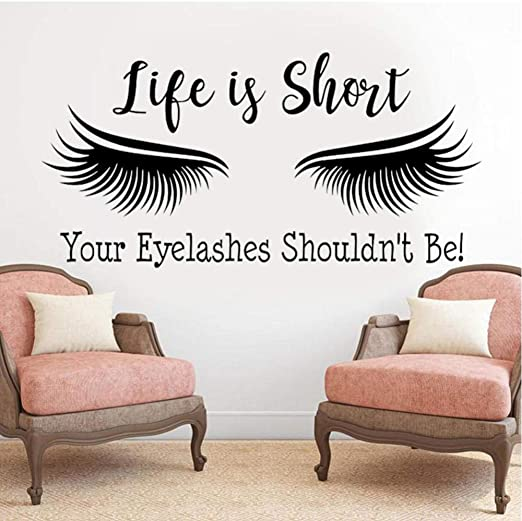 The Cutest Eyelashes Wall Decals For Kids Rooms And Nurseries Made Of Sundays