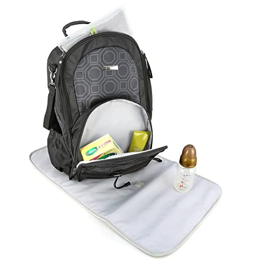 Evecase Lightweight Waterproof Baby Diaper Backpack Travel Bag
