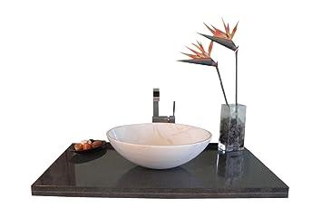 Waschbecken Aus Naturstein Model Rio Klein Marmor Guangxi Weiss