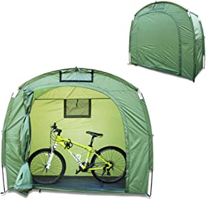 YUI Bike Garden Storage Tent Portable Durable Waterproof Roomy Outdoor Tent Bike Storage Protective Cover Tent Shed for Outdoor Protection