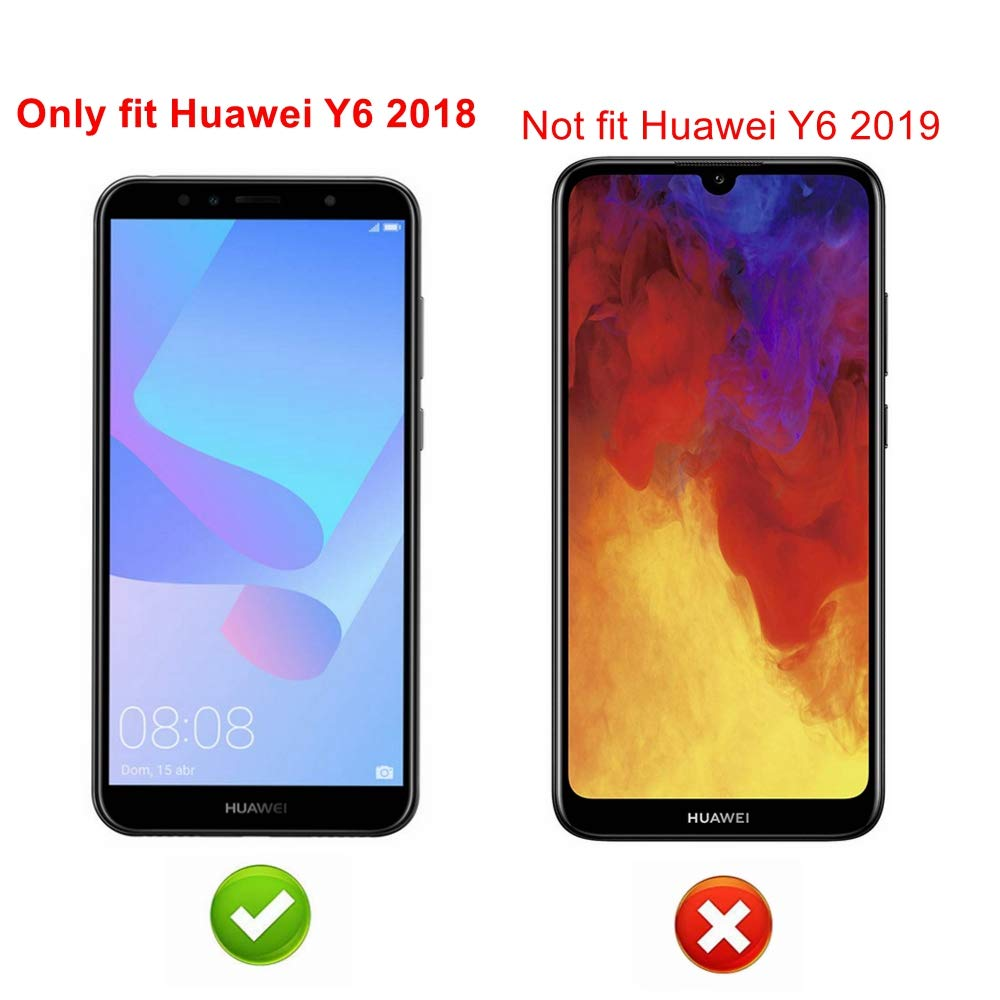 Amazon.com: Alapmk Case for Huawei Y6 2018 / Y6 Prime/Honor ...