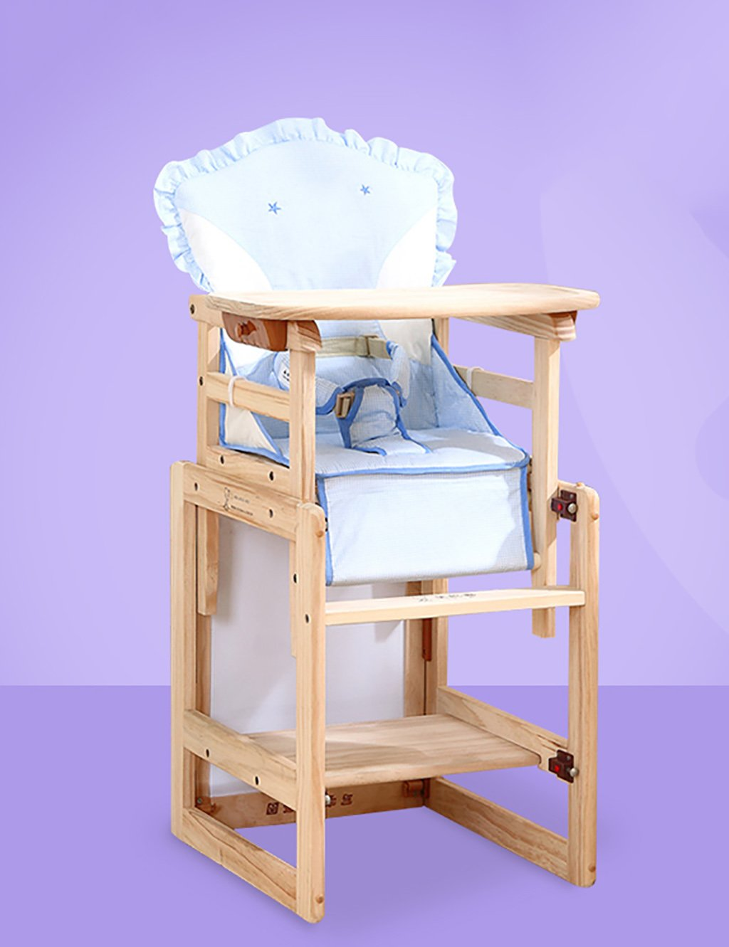 XWZ Sillas para niños Sillas para bebés Sillas Multiuso para niños Sillas de Comedor de Madera Maciza Sillas de bebé Sillas de bebé Silla de Comedor para ...