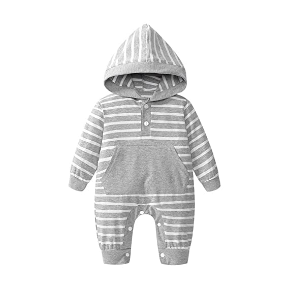 PAOLIAN Monos para Unisex bebé niñas niños Manga Larga Otoño Invierno 2018 Mameluco Bebe niña recién